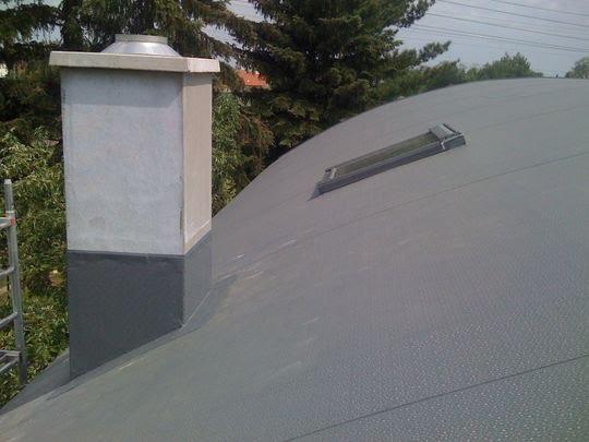 izolace obloukové střechy